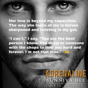 Chops to love Adrenaline teaser