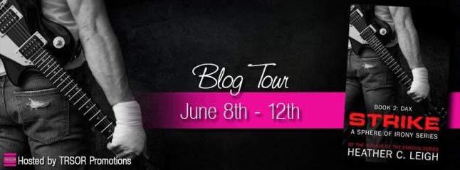strike blog tour banner